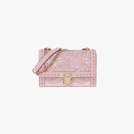 BALMAIN - LEATHER BBOX 25 BAG WITH WESTERN DESIGNS