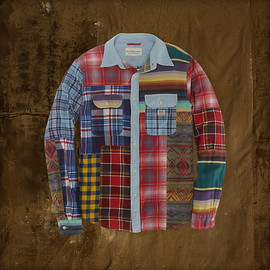 DENIM & SUPPLY - Patch work Shirts
