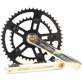 WHITE INDUSTRIES - VBC road crank (silver)