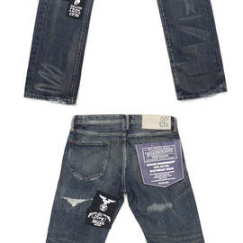 NEIGHBORHOOD - NEIGHBORHOOD(ネイバーフッド)20THMETAL.SAVAGE.NARROW/14OZ-PT(デニムパンツ)INDIGO240-001314-000-【新品】