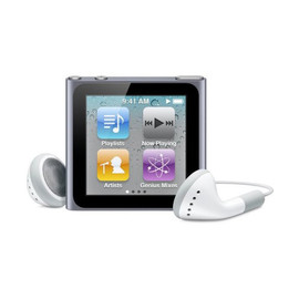 Apple - iPod nano 16GB (Graphite)