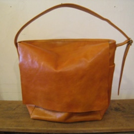 commono reproducts - Leather Sail bag