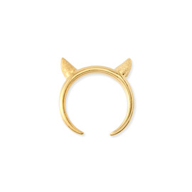chigo - devil's head ring (Gold)