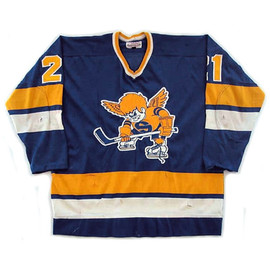 Minnesota Fighting Saints 74-75 Vintage WHA Hockey Sweater (Home) / Jersey