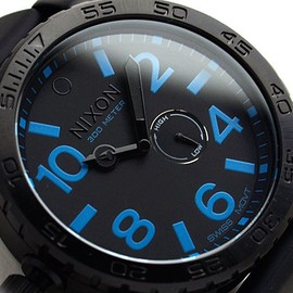 NIXON - THE 51-30 PU All Black / Blue A058602
