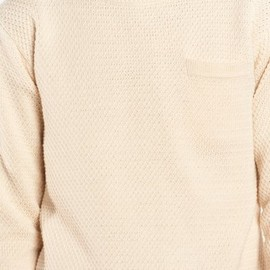 Patrik Ervell - Ivory Pocket Sweater