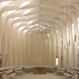 Niall McLaughlin Architects - Bishop Edward King Chapel, UK