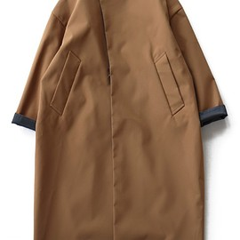 PONTI - Color Combination Coat (camel)