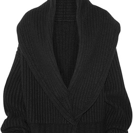The Row - Loretta ribbed wool and cashmere-blend cardigan