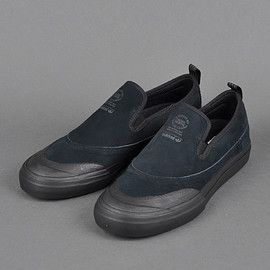 ADIDAS SKATEBOARDING - MATCHCOURT SLIP ON(BLACK×BLACK)