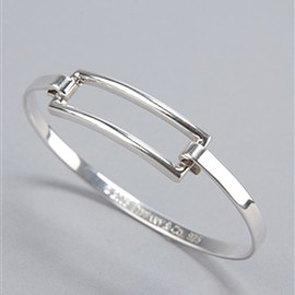 TIFFANY&Co. - Open Rectangle Bracelet