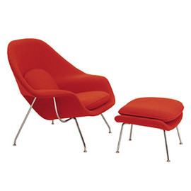 Knoll - Womb chair and ottoman