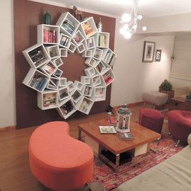 Veronica - One-of-a-Kind Mandala Bookshelf