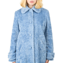 CHLOE SEVIGNY FOR OPENING CEREMONY - Faux Fur Cocoon Coat