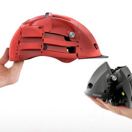 agency 360 - overade foldable bike helmet