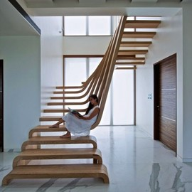 Arquitectura en Movimento Workshop - Wood Stairs