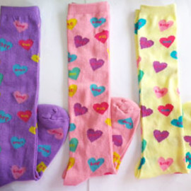 Baby Pink Parfait - CandyHearts Sox