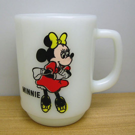 Fire King - disney Minnie mug cup