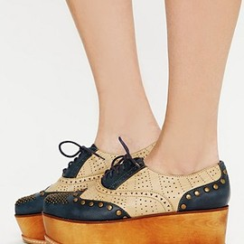 JEFFREY CAMPBELL - Ness Stacked Wingtip