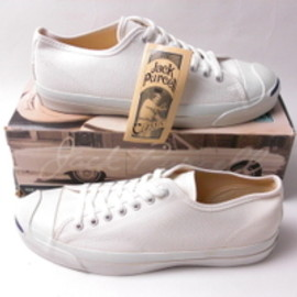 converse - JACK PURCELL  WHITE(MADE IN USA)