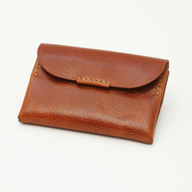 calotte leather handmade x PAPERSKY - トラベルウォレット / The PS Travel Wallet