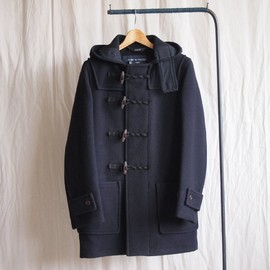 COMME des GARCONS HOMME - Duffle Coat ×Gloverall #navy