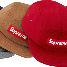 Supreme - Loro Piana Wool Camp Cap