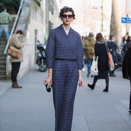 street style - It's hip to be square.