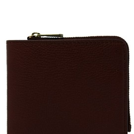 MARC BY MARC JACOBS - M STANDARD SUPPLY LEATHER NAPPA YEN WALLET W/ZIP(財布)|ブラウン