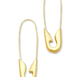 tom binns - Safety Pin Earrings