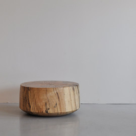 George Peterson - Wooden Stool maple