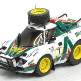 チョロQ - Lancia Stratos Safari Hand Made Model Kit