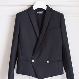 BALMAIN - Double Breasted Wool Jacket