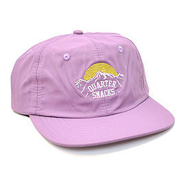"QUARTER SNACKS - QUARTER SNACKS キャップ ""MOUNTAIN NYLON CAP - LAVENDER"""