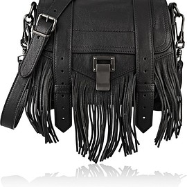 Proenza Schouler - The PS1 small fringed leather shoulder bag