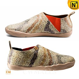 cwmalls - Printed Leather Sport Loafers CW700115 - cwmalls.com