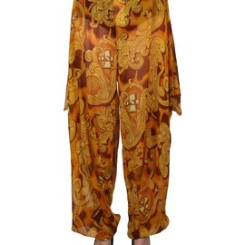 JEREMY SCOTT - MONEY DRAPED HAREM PANTS
