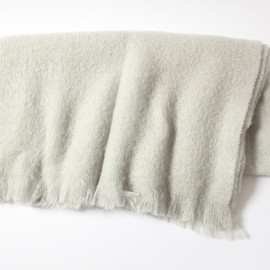 MARGARET HOWELL - MOHAIR BLANKET LT GREY