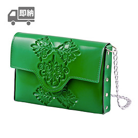 Medusa Brand - mini clutch/Green