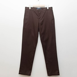 cup and cone - Custom Fit Chino Pants - Brown