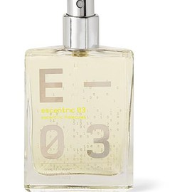 Escentric Molecules - Escentric 03 - Vetiver, Mexican Lime and Ginger, 30ml