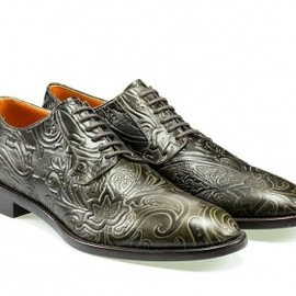 Etro - エトロ(ETRO)ペイズリー型押しレースシューズ Paisley pattern classic pair of shoes 1