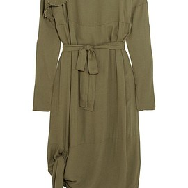 Vivienne Westwood Anglomania - Balloon frayed crepe dress
