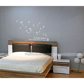 wallstickerdeal.com - To Freely Bloom Flower Wall Sticker