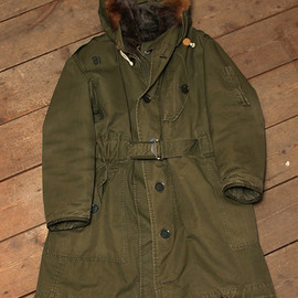RAF COLD WEATHER PARKA 1950〜60`S green
