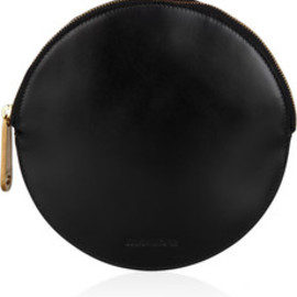 Jil Sander - Circle leather clutch