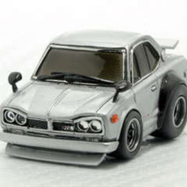 チョロQ - NISSAN Skyline GT-R A CarHand Made Model Kit