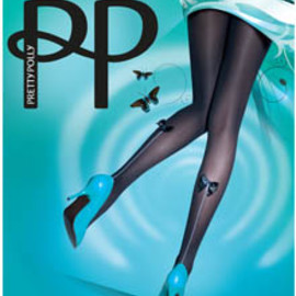 HOUSE OF HOLLAND - Bow Back Seam Tights
