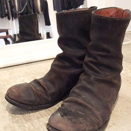GUIDI - horse reverse back zip boots