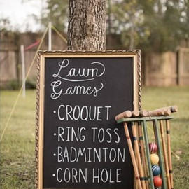 Project Wedding - Lawn Games